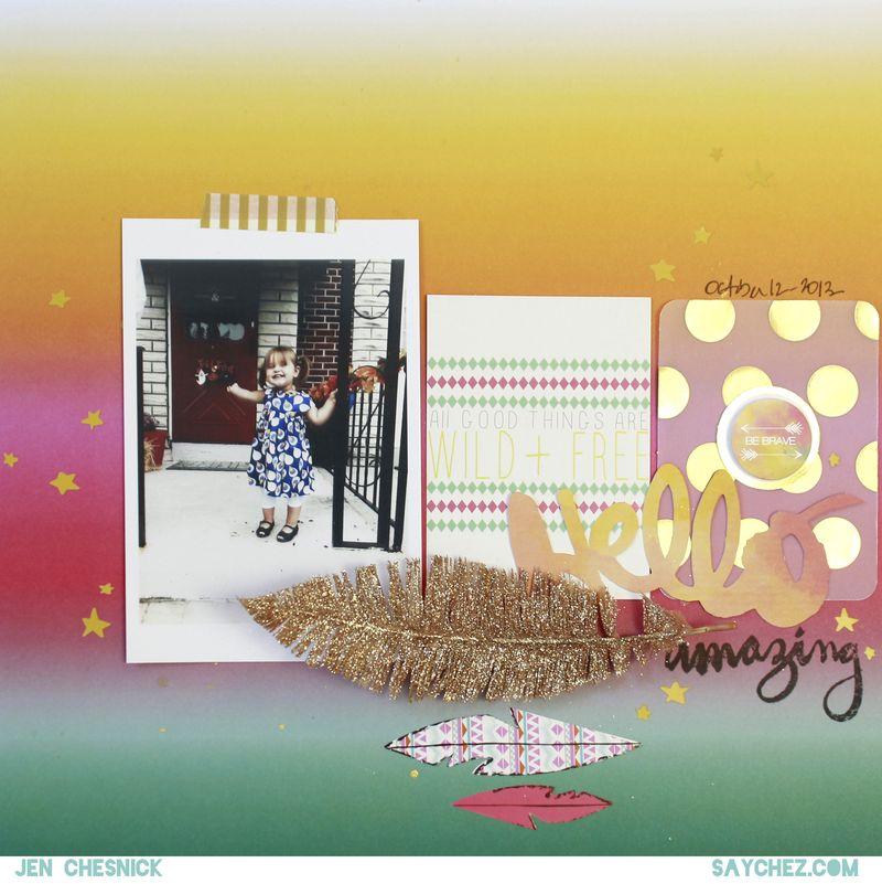 Jen Chesnick - Hello Amazing - Glitz Designs