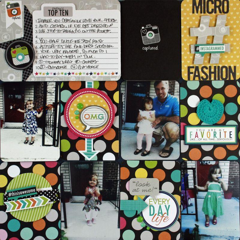 Jen Chesnick - Micro Fashion - Project Life