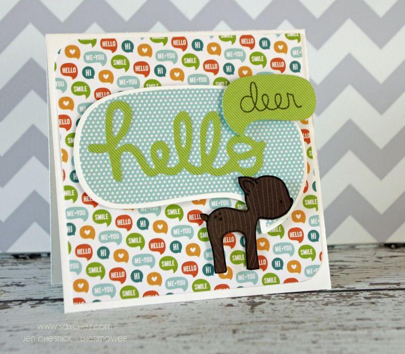 Jen Chesnick- Hello Deer- Thermoweb-small