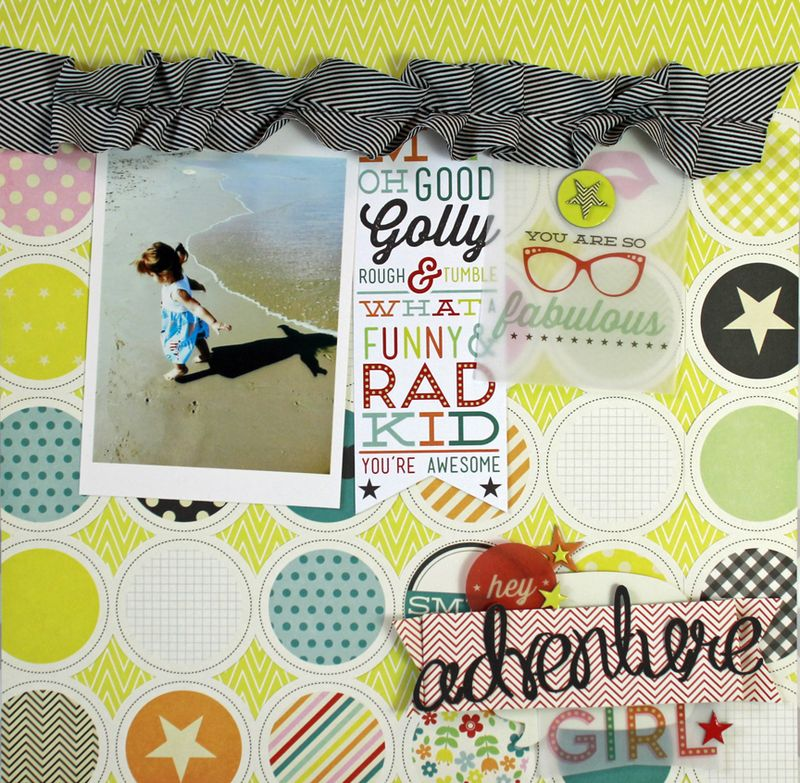 Jen Chesnick- Adventure Girl- Pink Paislee