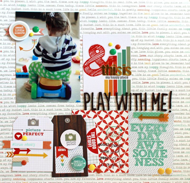 Jen Chesnick- Play With Me- Chic Tags