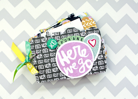 Jen Chesnick- Here we go- American Crafts